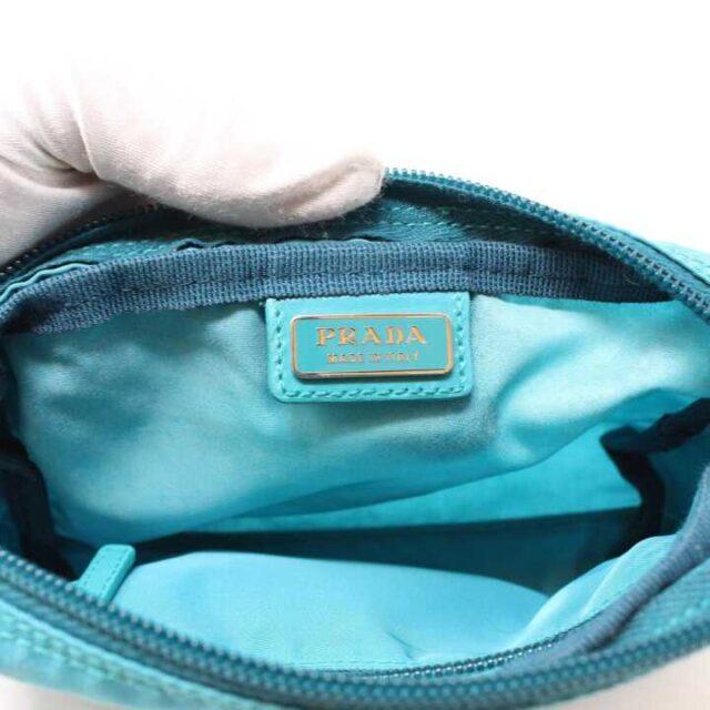 PRADA Blue Nylon Small Cosmetic Bag 29342 4