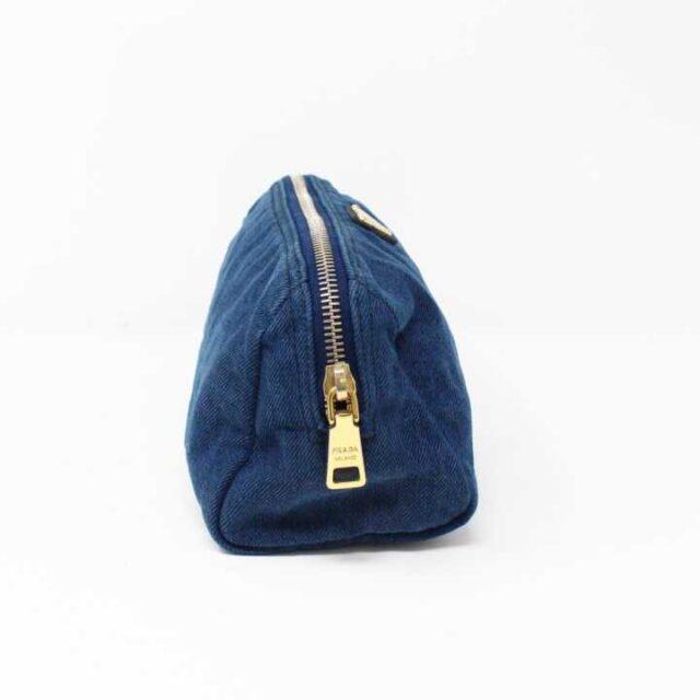 PRADA Denim Cosmetic Bag 29350 4