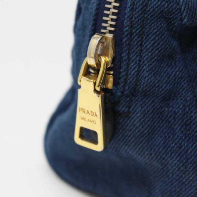 PRADA Denim Cosmetic Bag 29350 6