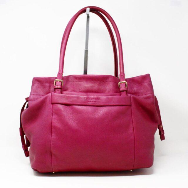 KATE SPADE Purple Leather Tote 29983 1