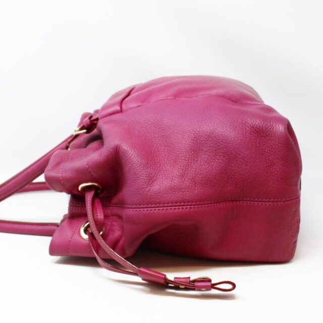 KATE SPADE Purple Leather Tote 29983 2
