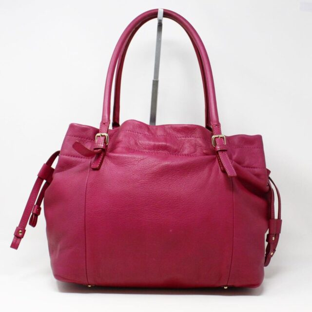 KATE SPADE Purple Leather Tote 29983 4