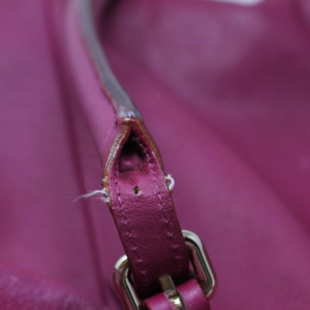 KATE SPADE Purple Leather Tote 29983 6
