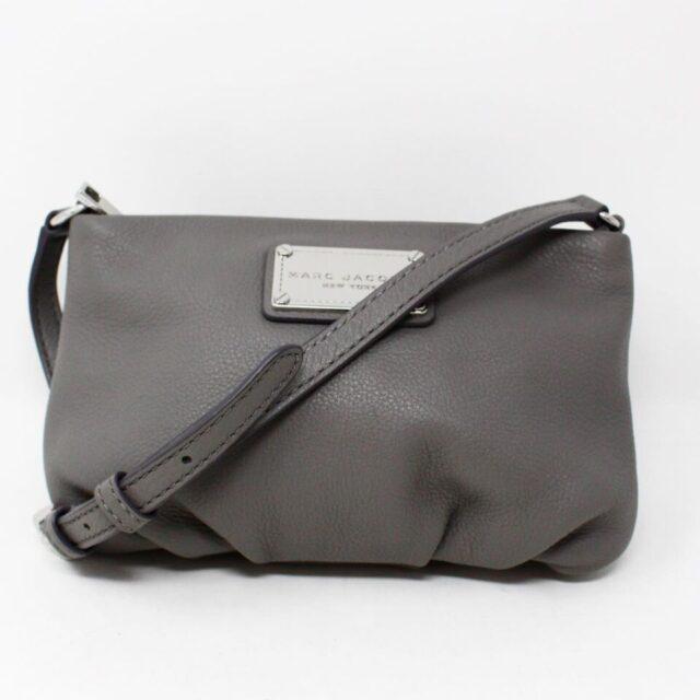 MARC JACOBS Grey Leather Crossbody 30019 1