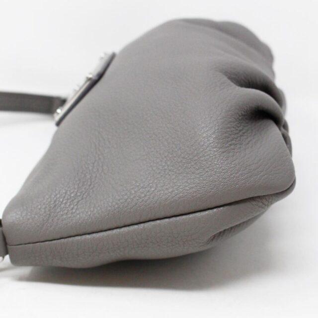 MARC JACOBS Grey Leather Crossbody 30019 5
