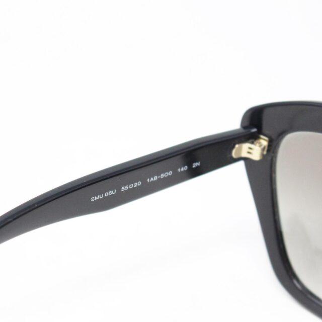 MIU MIU 30073 Black Cat Eye Sunglasses 6