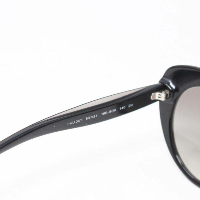 MIU MIU 30074 Black Gold Nose Oval Cat Eye Sunglasses 3