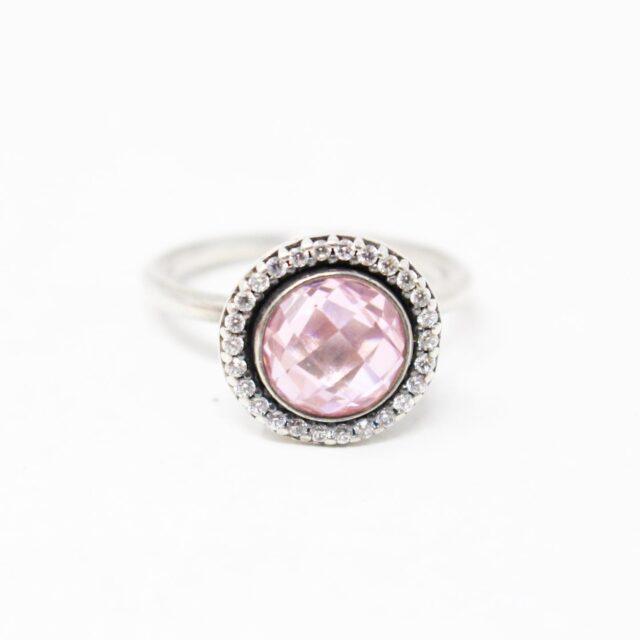 PANDORA 29938 .925 Sterling Silver 3 Ring Set 2