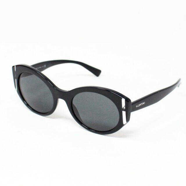 VALENTINO 30062 Black 35 mm Cat Eye Sunglasses 1