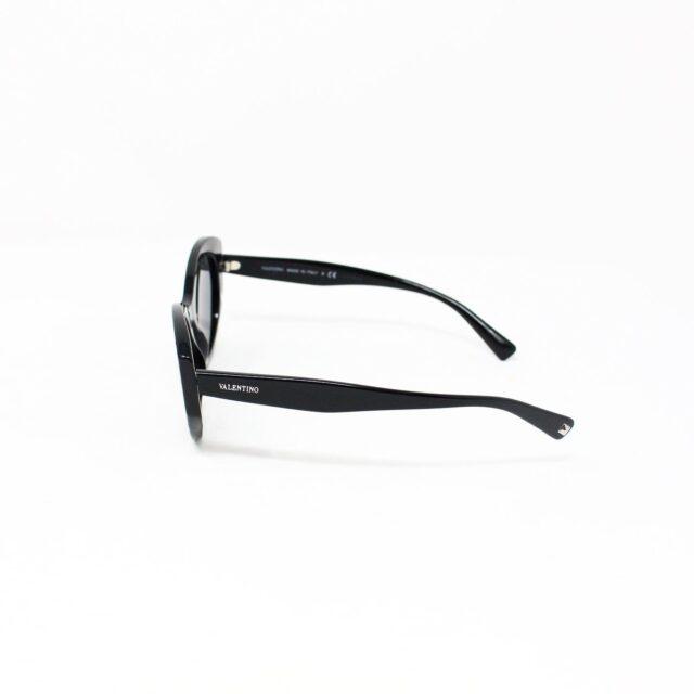 VALENTINO 30062 Black 35 mm Cat Eye Sunglasses 2