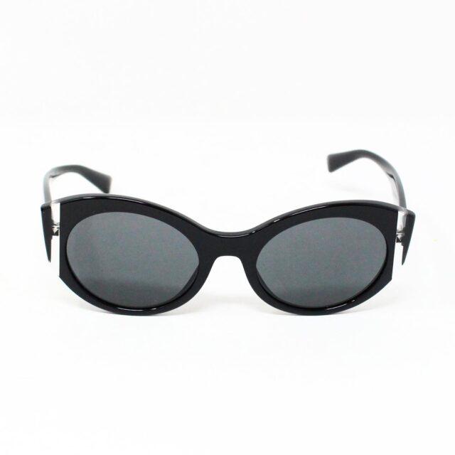 VALENTINO 30062 Black 35 mm Cat Eye Sunglasses 3