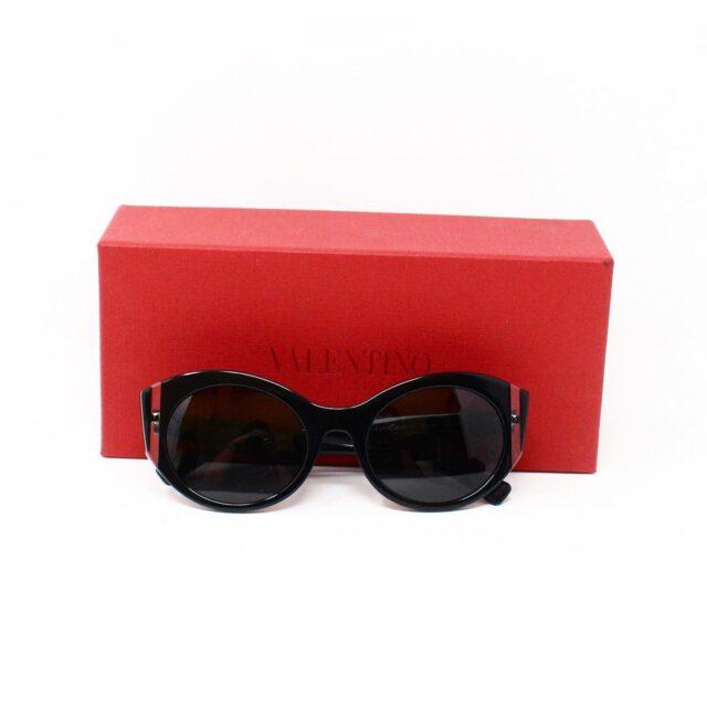 VALENTINO 30062 Black 35 mm Cat Eye Sunglasses 6