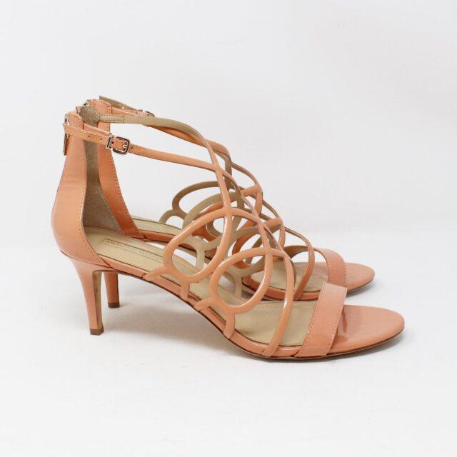 ANTONIO MELANI 30497 Peach Patent Leather Heels US 10 EU 40 2