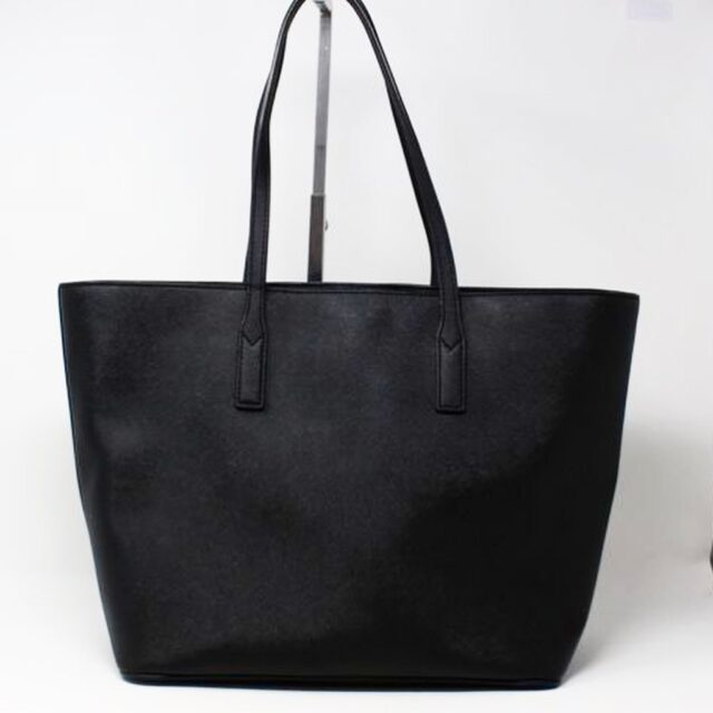 MARC JACOBS 30219 Black Saffiano Leather Tote 2