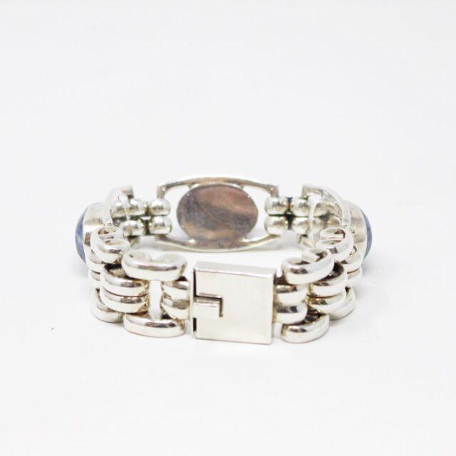 31162 .925 Sterling Silver Lapis Lazuli Gemstone Bracelet 3