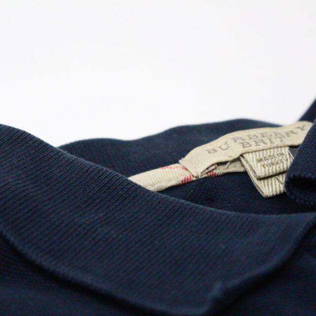 BURBERRY 29445 Men´s Brit Navy Blue Polo Shirt 4