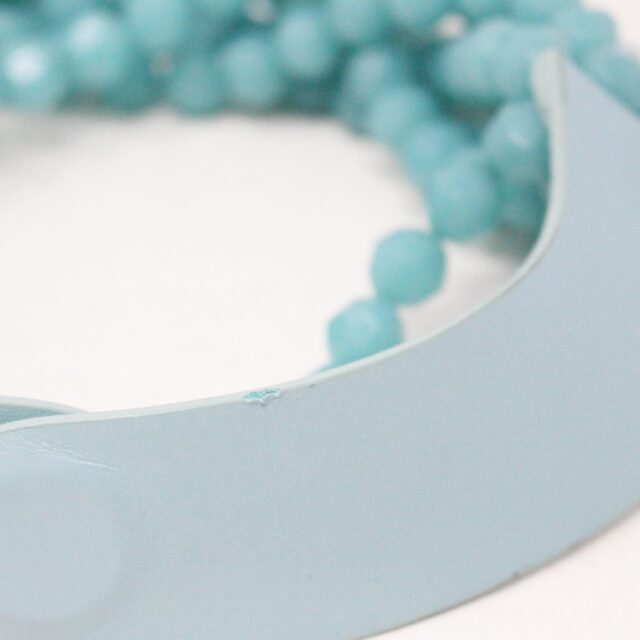 FAIRCHILD BALDWIN Bella Bright Turquoise Necklace 4