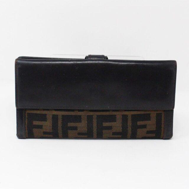 FENDI 31139 Brown Zucca Wallet 2