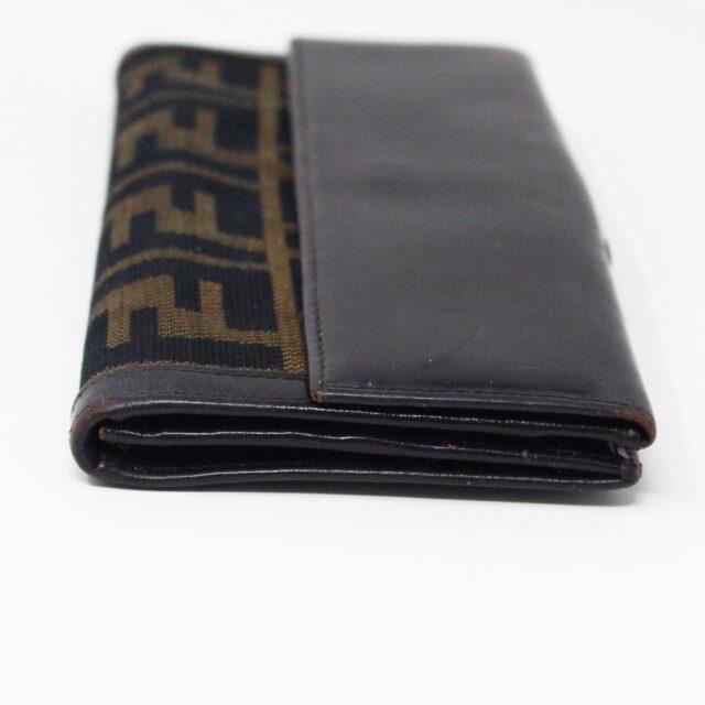 FENDI 31139 Brown Zucca Wallet 3