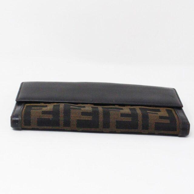 FENDI 31139 Brown Zucca Wallet 4
