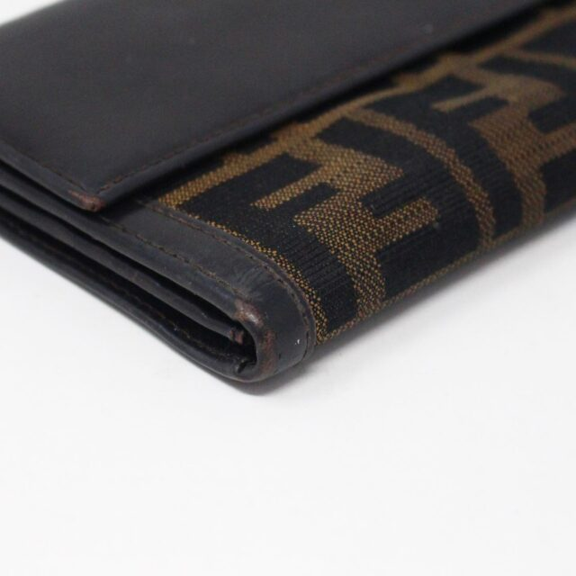 FENDI 31139 Brown Zucca Wallet 5