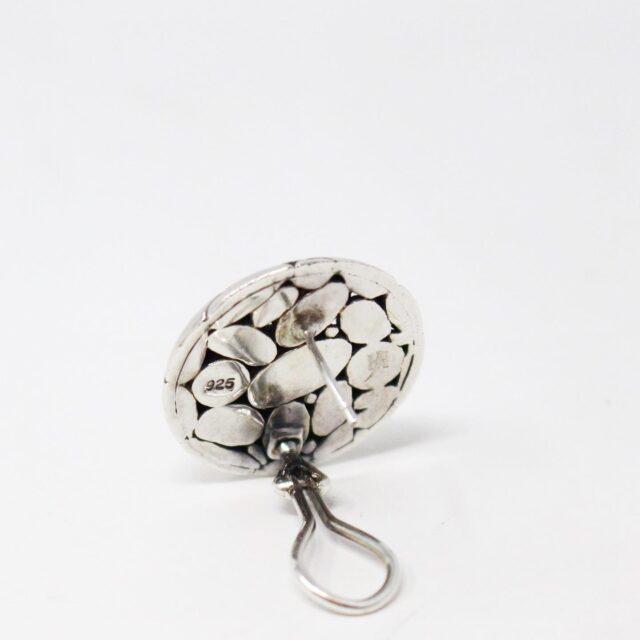 JOHN HARDY 31161 .925 Sterling Silver Earrings 4