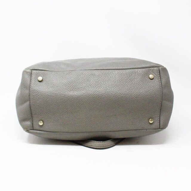 KATE SPADE 30978 Grey Leather Tote 3