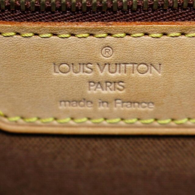 LOUIS VUITTON 29992 Brown Monogram Cabas Mezzo Tote 8