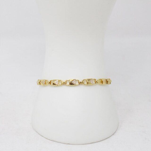 MICHAEL KORS 30951 Gold Tone Stainless Steel Bracelet NWT 3