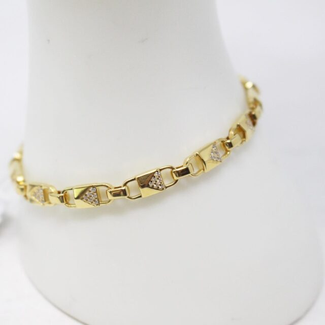 MICHAEL KORS 30951 Gold Tone Stainless Steel Bracelet NWT 6