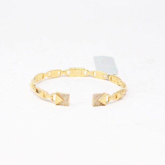 MICHAEL KORS 30956 Gold Tone Stainless Steel Bracelet NWT 1