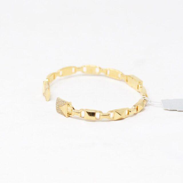 MICHAEL KORS 30956 Gold Tone Stainless Steel Bracelet NWT 2
