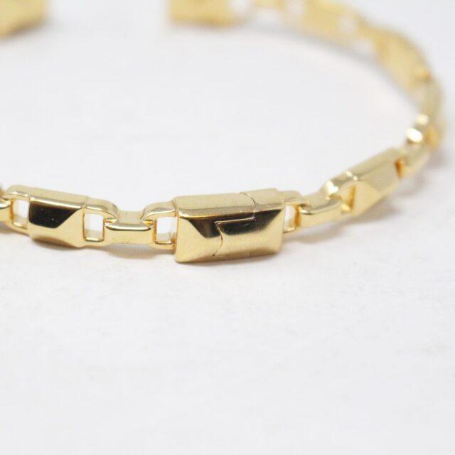 MICHAEL KORS 30956 Gold Tone Stainless Steel Bracelet NWT 4