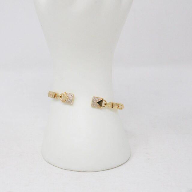 MICHAEL KORS 30956 Gold Tone Stainless Steel Bracelet NWT 6