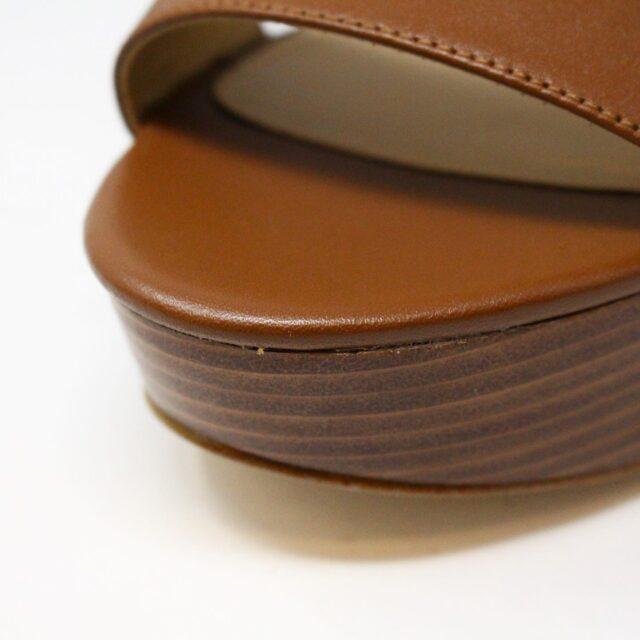 MICHAEL KORS 31149 Brown Leather Wedges US 11 EU 41 6