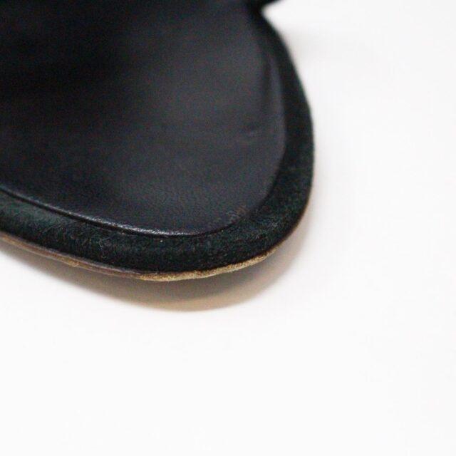 OSCAR DE LA RENTA 29289 Black Suede Heels US 7.5 EU 37.5 6