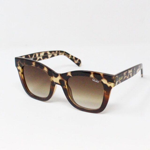 QUAY AUSTRALIA 30884 Brown After Hours Rectangular Sunglasses 1
