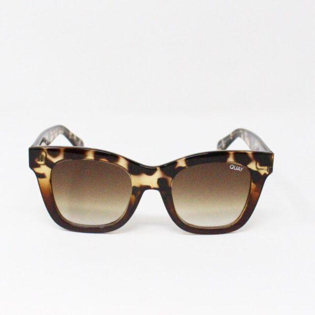 QUAY AUSTRALIA 30884 Brown After Hours Rectangular Sunglasses 3