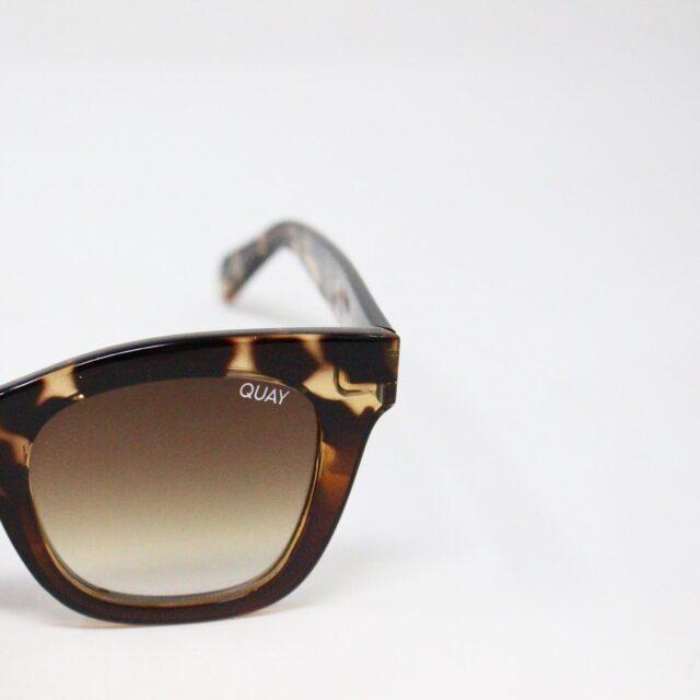 QUAY AUSTRALIA 30884 Brown After Hours Rectangular Sunglasses 4