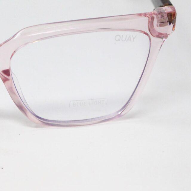 QUAY AUSTRALIA 30885 Pink CEO Blue Light Glasses 5