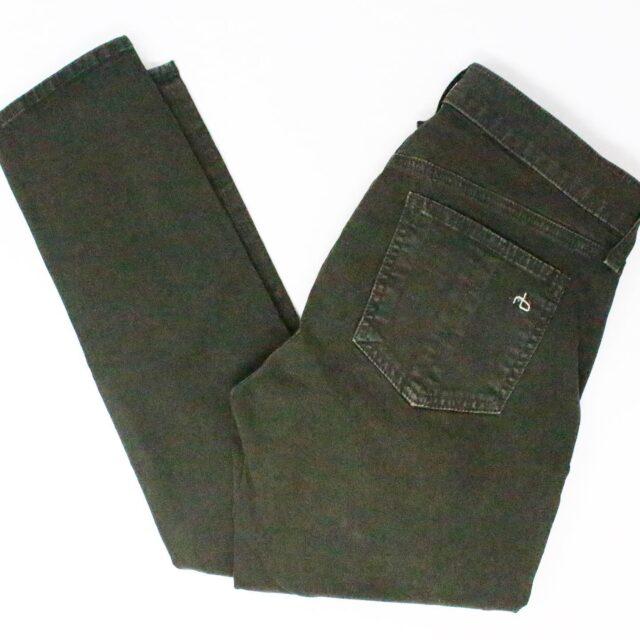 RAG BONE 31085 Olive Green Skinny Jeans Size 26 1