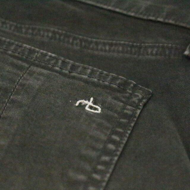 RAG BONE 31085 Olive Green Skinny Jeans Size 26 2