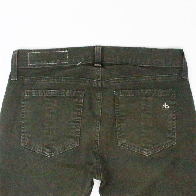 RAG BONE 31085 Olive Green Skinny Jeans Size 26 4