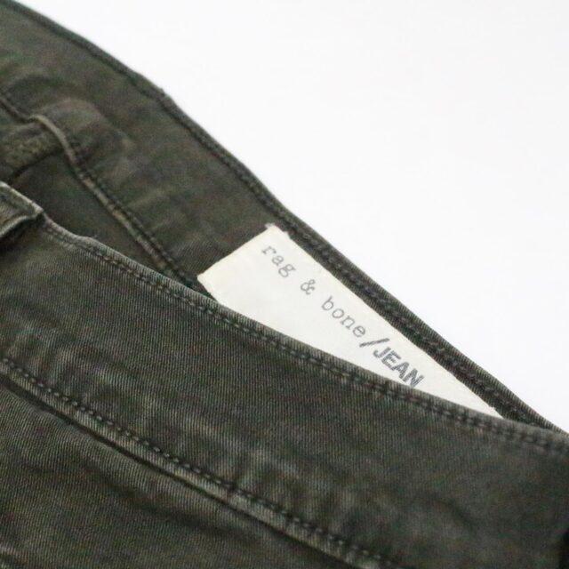 RAG BONE 31085 Olive Green Skinny Jeans Size 26 9