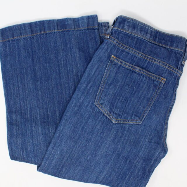 RAG BONE AYB083 Blue Loose Fit Wide Leg Jeans Size 25 1