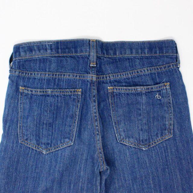RAG BONE AYB083 Blue Loose Fit Wide Leg Jeans Size 25 3