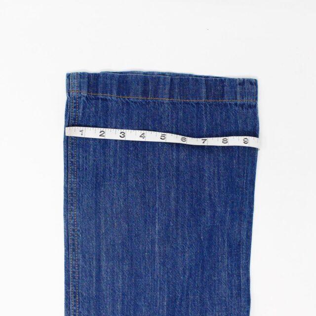 RAG BONE AYB083 Blue Loose Fit Wide Leg Jeans Size 25 5