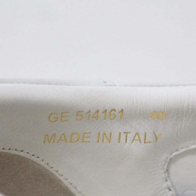 SAINT LAURENT 30950 Mens White Court Canvas Classic Sneakers 9