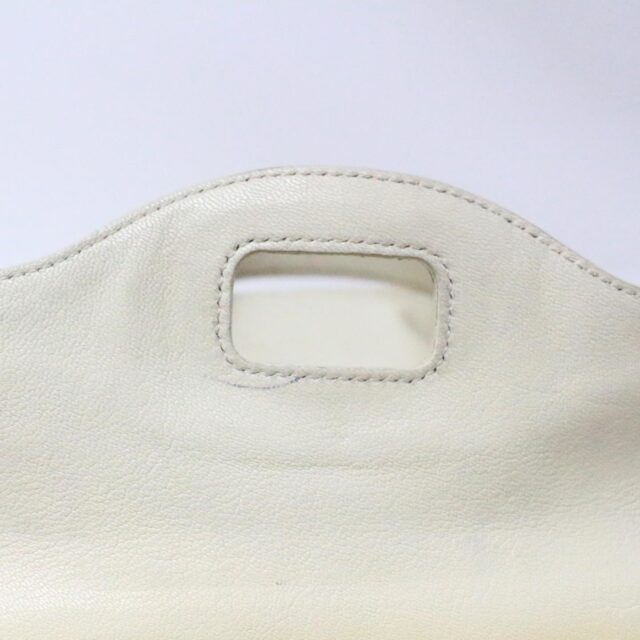 YVES SAINT LAURENT 31055 Beige Leather Muse Messenger Bag 7