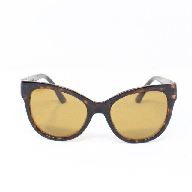GUCCI 31226 Brown Semi Cat Eye Sunglasses 3